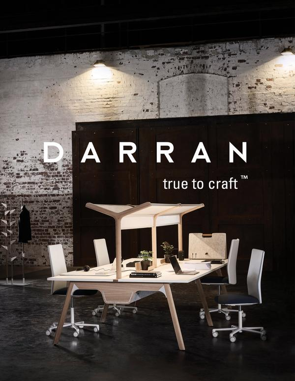 DARRAN Furniture announces new logo, brand identity